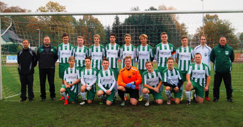 Die A-Junioren der Saison 2016/2017 - U19 - SG Burg (Spreewald)