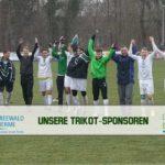 Erste Mannschaft – Sieg gegen Storkow