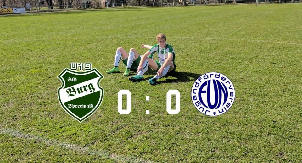 U19 vs. Guben – Torlose 90 Minuten