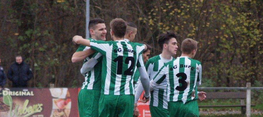 Erste Mannschaft: 5:2 gegen den VfB Cottbus – Der erste Sieg