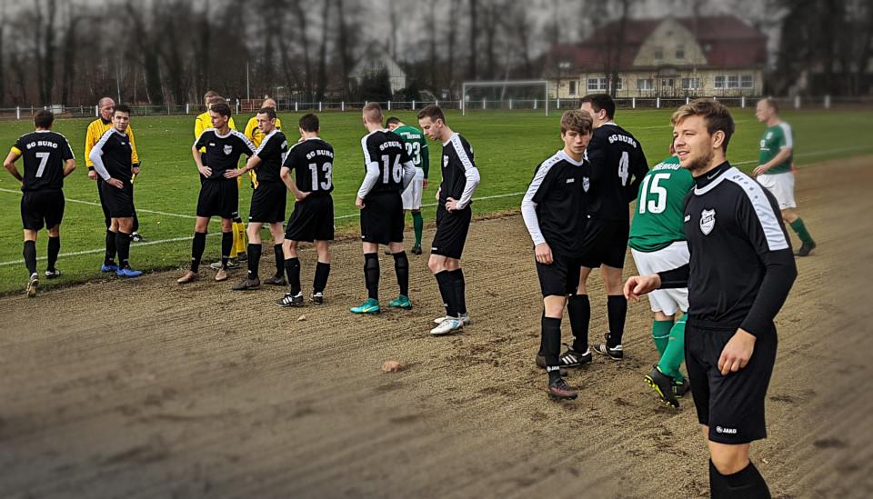 Burg vs. Drebkau – Drei Punkte vor der Winterpause