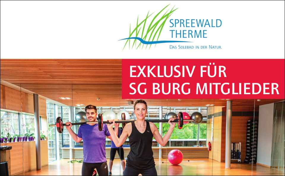 Training im FitnessPanorama der Spreewald Therme