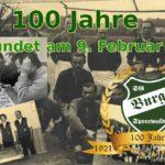 100 Jahre - Grußwort unseres Vorsitzenden